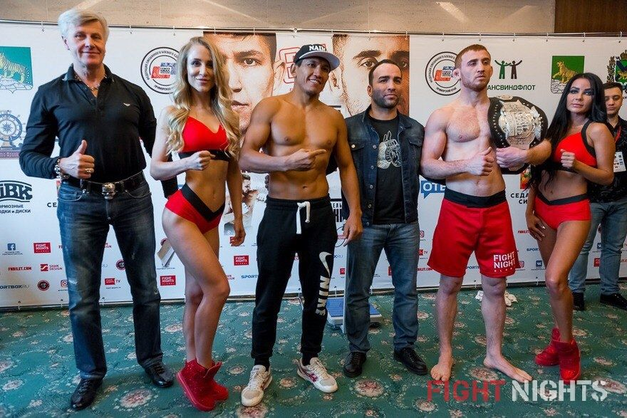 FIGHT NIGHTS GLOBAL 63. Weigh-In results