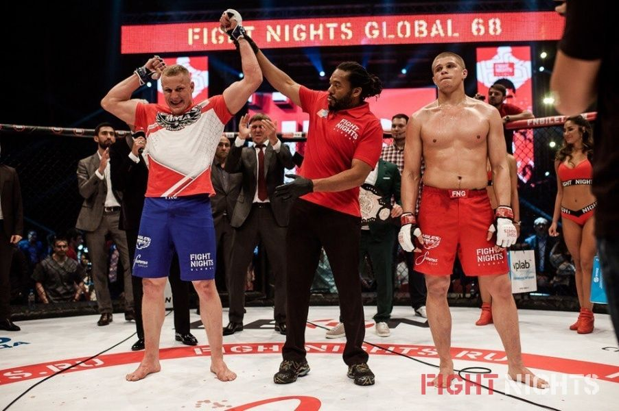 FIGHT NIGHTS GLOBAL 68. Результаты турнира.