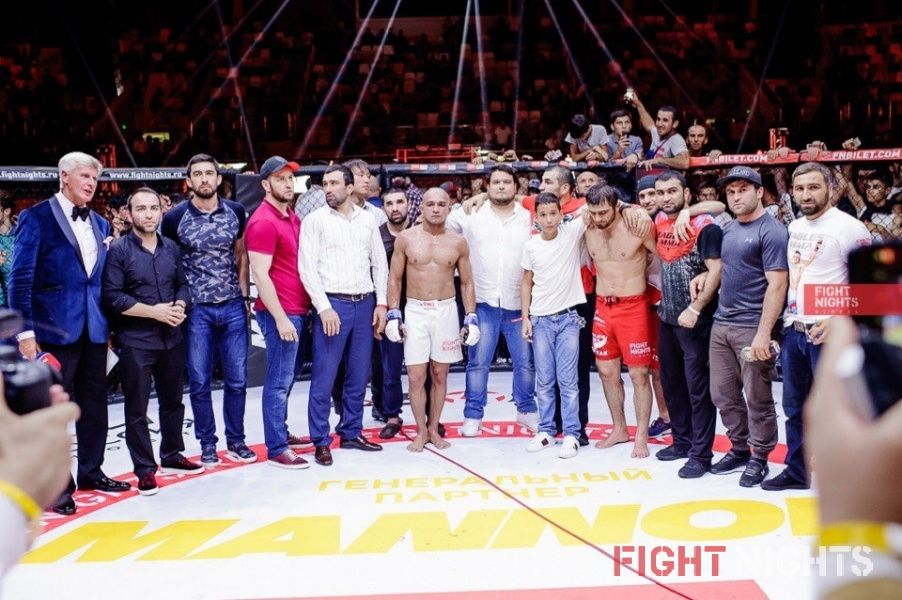 FIGHT NIGHTS GLOBAL 73. Результаты турнира