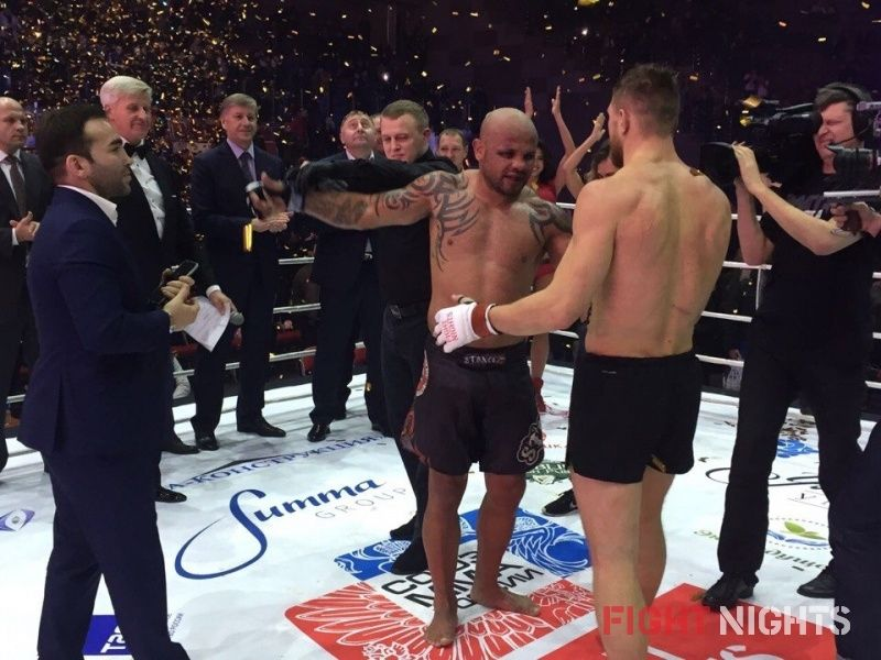 Результаты FIGHT NIGHTS GLOBAL 56