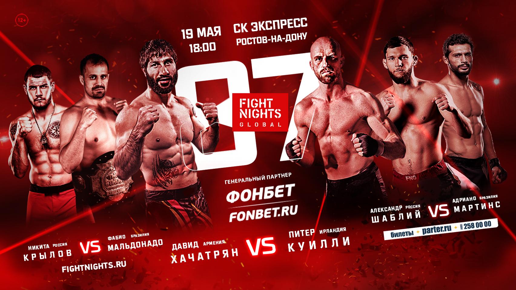 Картинки по запросу Fight Nights Global 87
