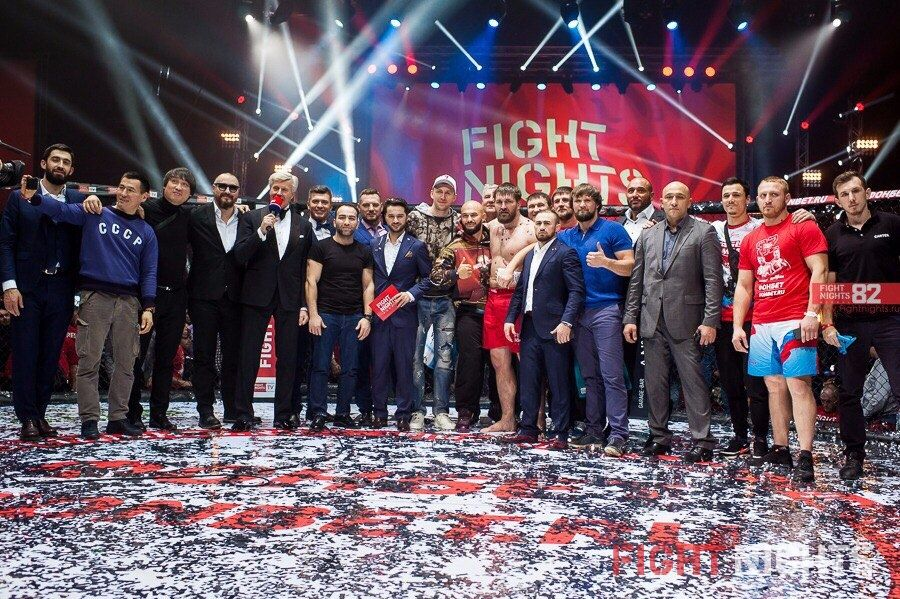 FIGHT NIGHTS GLOBAL 82 Results