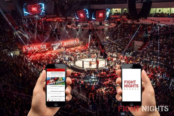 «Качаем» вместе FIGHT NIGHTS GLOBAL на APP STORE!