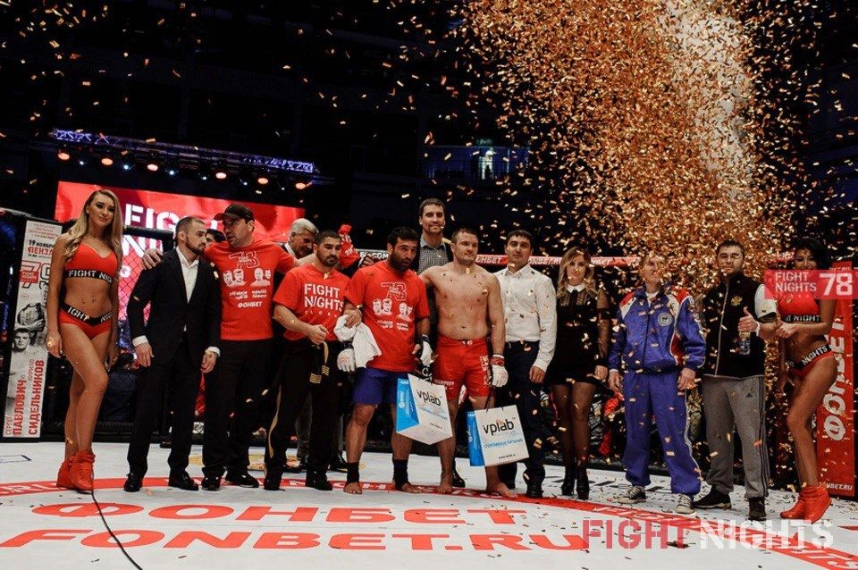 FIGHT NIGHTS GLOBAL 78 Results