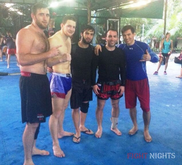 Кадр дня: FIGHT NIGHTS team на сборах в Таиланде