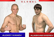 Алексей Иванов vs. Алиасхаб Хизриев в рамках турнира Fight Nights Global 57