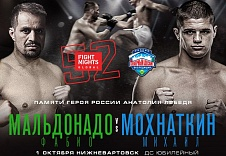 Представляем файткард турнира FIGHT NIGHTS GLOBAL 52