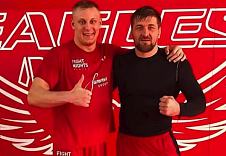FIGHT NIGHTS GLOBAL fighters Sergey Pavlovich and Vitaly Minakov