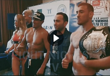 FIGHT NIGHTS GLOBAL 63. Video Weigh-In