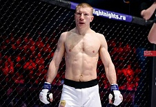 "Alexander Matmuratov: ""I'm never focusing on KOing guys, it never works like this. I will try to keep the fight a standup. That's what the audience likes!"""