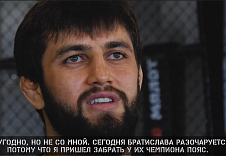 "Sharamazan Chupanov: ""More than a rematch"""