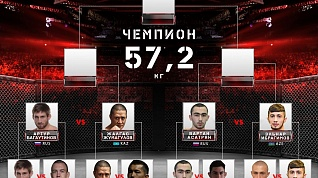 Представляем сетку Гран-при FIGHT NIGHTS GLOBAL в наилегчайшем весе