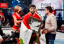 Солех Хасанов выступит на FIGHT NIGHTS GLOBAL 53