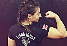 "Liana Jojua: ""I'm not afraid of wrestling"""